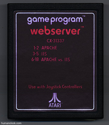 Atari 2600 Webserver Cartridge