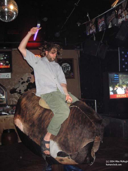 Craig on the Bull