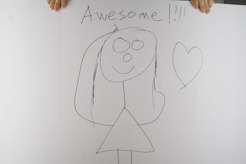 Drawing of Kristen Schaal