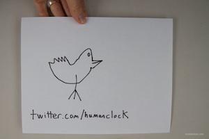 Humanclock on Twitter