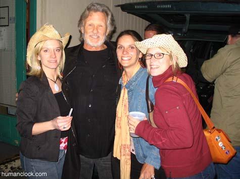 With Kris Kristofferson